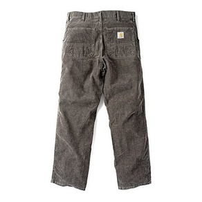 Kalhoty Carhartt WIP Simple Pant - Corduroy - Dirt - Stone Washed