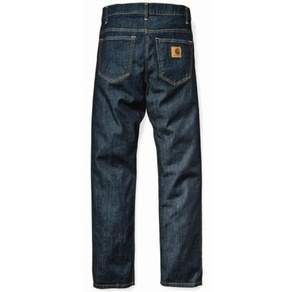 Kalhoty Carhartt WIP Sonic Pant - Colusa - Blue - Rinsed