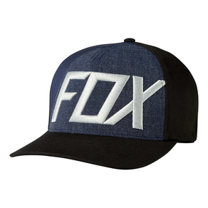Kšiltovka Fox Blocked Out Flexfit - Black