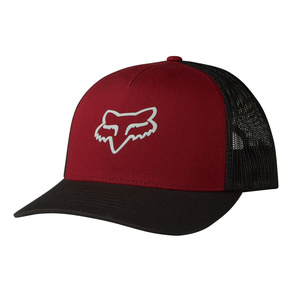 Kšiltovka Fox Heads Up Trucker - Dark Red
