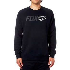 Mikina Fox Legacy Crew Fleece - Black