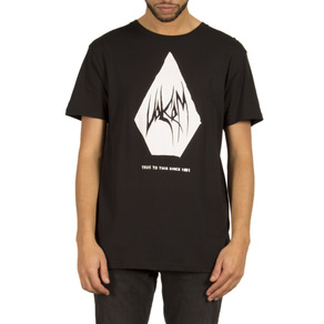 Tričko Volcom Carving Block Bsc - Black
