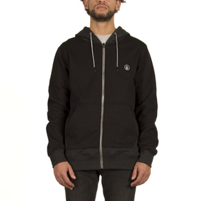 Mikina Volcom Backroonym Zip - Black