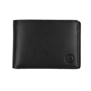 Peněženka Volcom Leather Wallet - Black