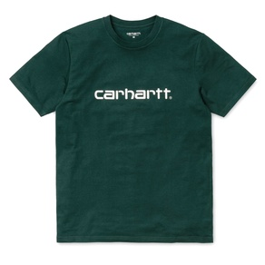 Tričko Carhartt WIP Script T-Shirt - Parsley/White