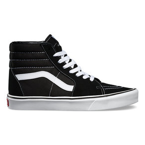 Boty Vans Sk8-Hi Lite (suede/canvas) - Black/White