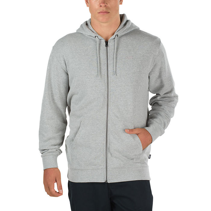 Mikina Vans Core Basics Zip Hoodie - Cement HeatherMikina Vans Core Basics Zip