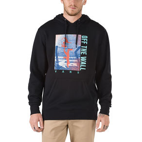 Mikina Vans Above Chima Pullover - Black