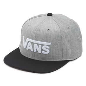 Kšiltovka Vans Drop V II Snapback - Heather Grey