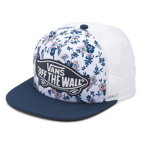 Kšiltovka Vans Beach Girl Trucker - White Ditsy Bloom