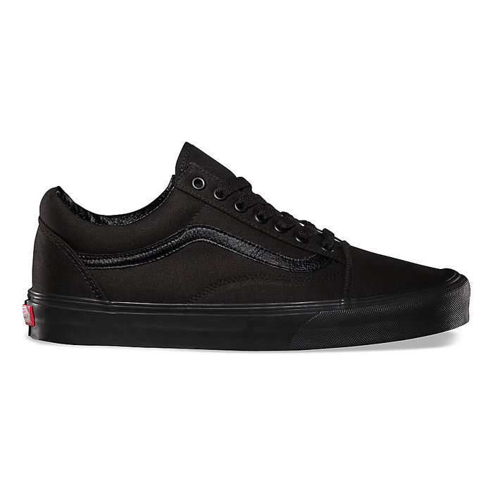 Boty Vans Old Skool - Black/BlackBoty Vans Old Skool - Black/Black