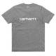 Tričko Carhartt WIP Script T-Shirt - Dark Grey HeatherTričko Carhartt Script - Dark Grey Heather